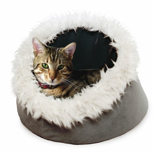 PAW Feline Cat Comfort Cavern Pet Bed