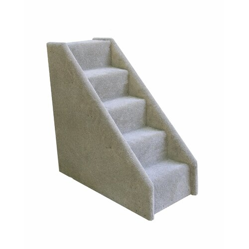 Animal Stuff Bear's Stairs™ 5 Step Mini Carpeted Pet Stairs