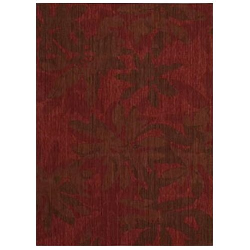 Calvin Klein Home Rug Collection Urban Winter Flower Garnet Rug