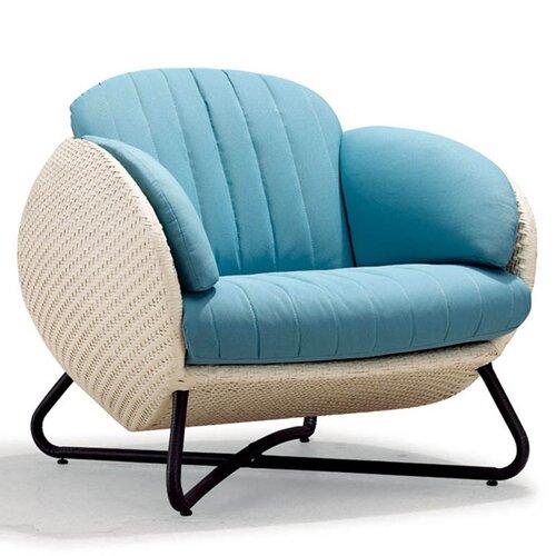 100 Essentials Circle Single Sofa with Cushions