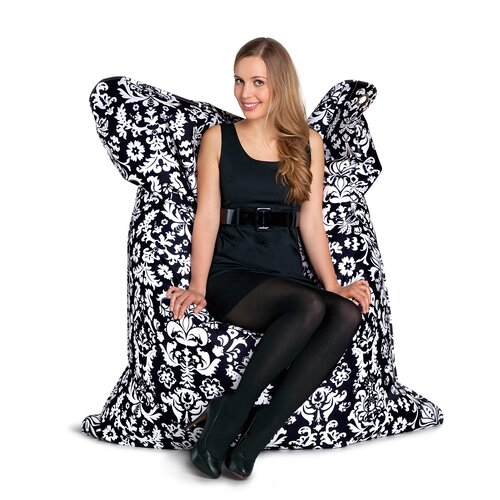 Sitting Bull Fashion Bull Marie Antoinette Bean Bag Lounger