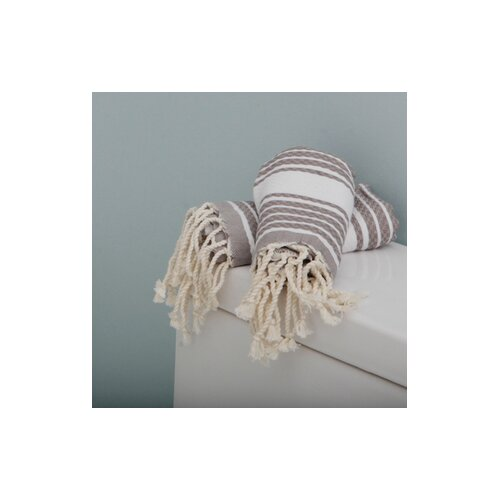 Scents and Feel Fouta Honeycomb Weave Stripe Towel
