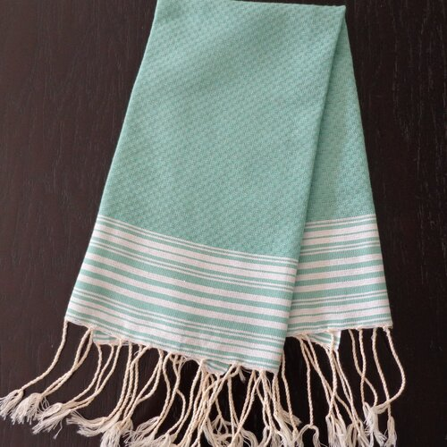 Scents and Feel Honey Comb Fouta Hand Towel