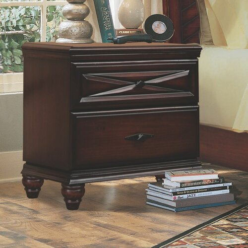 Liverpool 2 Drawer Nightstand