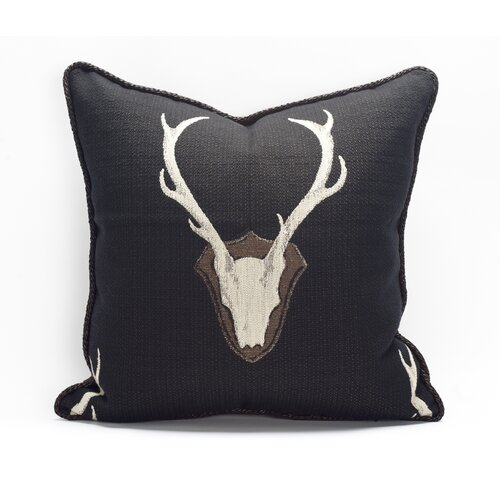 TOSS by Daniel Stuart Studio Oh Deer Cotton Pillow