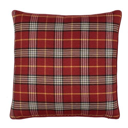 Mason Plaid Cotton Pillow