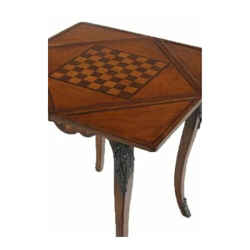 Ultimate Accents Preswick Handkerchief Chess and Checker Table