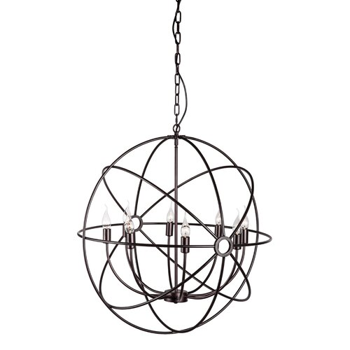 Helvine 8 Light Foyer Pendant