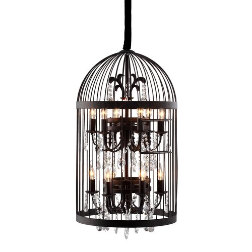 Canary 12 Light Ceiling Lamp