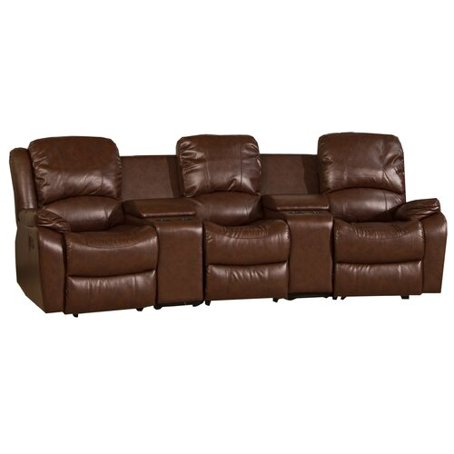 Global Furniture Direct Cinema Style Bonded Leather 3