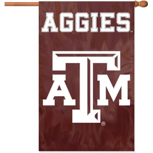 NCAA Applique Banner Flag