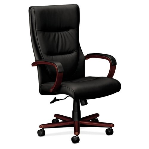 Basyx by HON VL844 Series High-Back Leather Office Chair