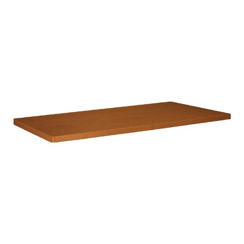 Basyx by HON Table Top, Rectangular, Bourbon Cherry