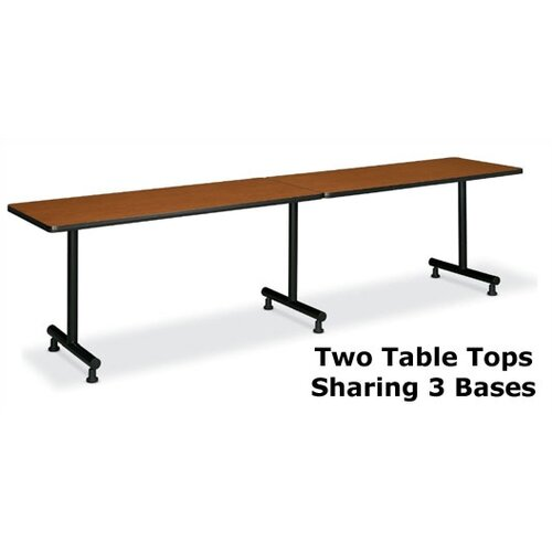 "Basyx by HON Laminate/T-Mold Rectangular 30"" D Table Tops without Grommets"