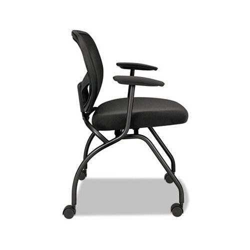 Basyx by HON VL300 Series Nesting Guest Chair with Arms (Set of 2)