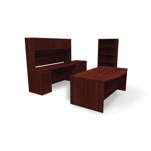 Basyx by HON BL Series Standard Desk Office Suite with Storage