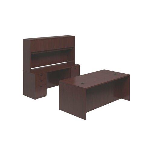Basyx by HON BL Series Standard Desk Office Suite