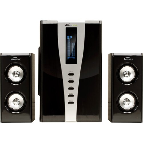 Eagle Tech 2.1 Soundstage Speaker with Subwoofer and Remote