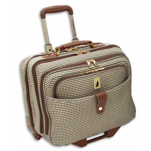 "London Fog Chelsea Lites 17"" Wheeled Computer Bag"
