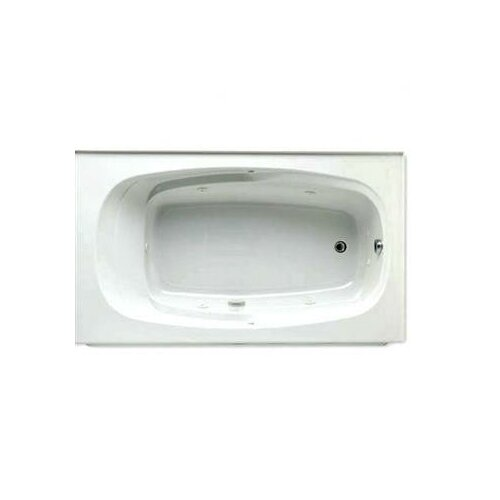 """Jason Hydrotherapy Integrity 72"""" x 42"""" Whirlpool Tub with Integral Skirt on Right"""