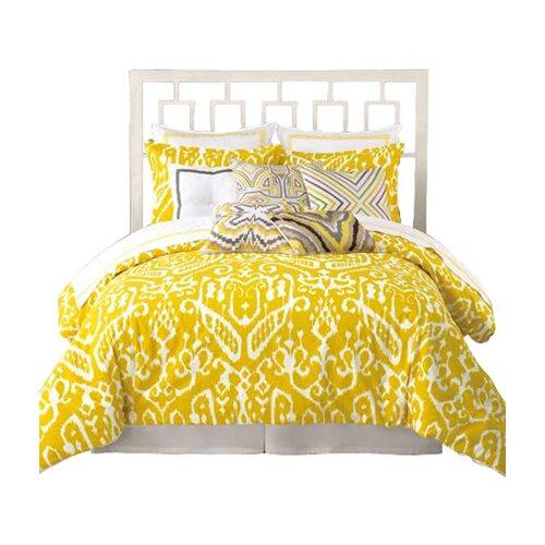 Trina turk residential ikat 3 piece comforter set amp reviews wayfair