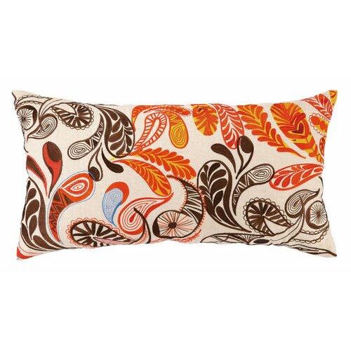 Paisley Linen Pillow