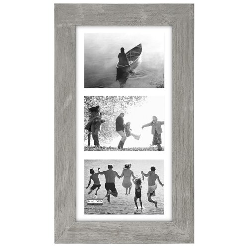 "Malden Manhattan 3 Opening 5"" x 7"" Picture Frame"