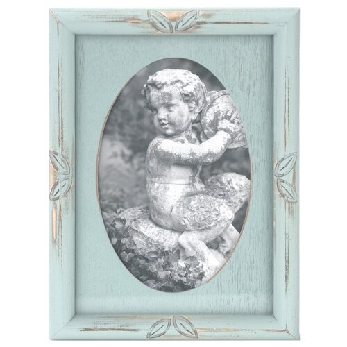 Oval Washed Picture Frame