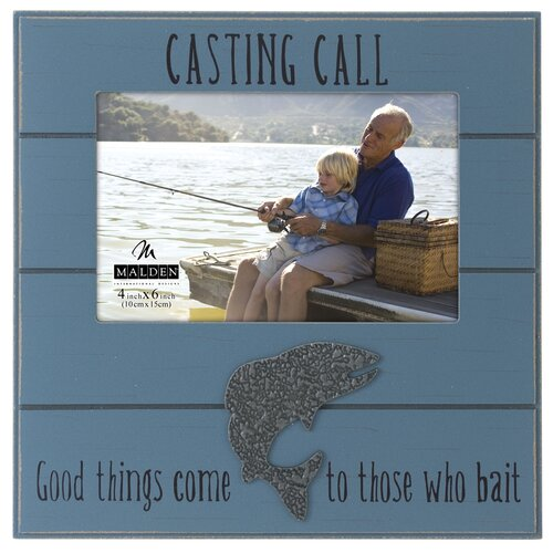 Malden Casting Call Fish Picture Frame