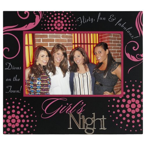 Girl's Night Picture Frame