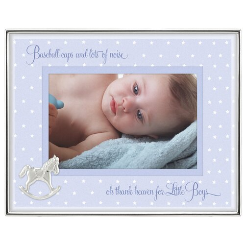 Malden Baby Boy Shadowbox Picture Frame
