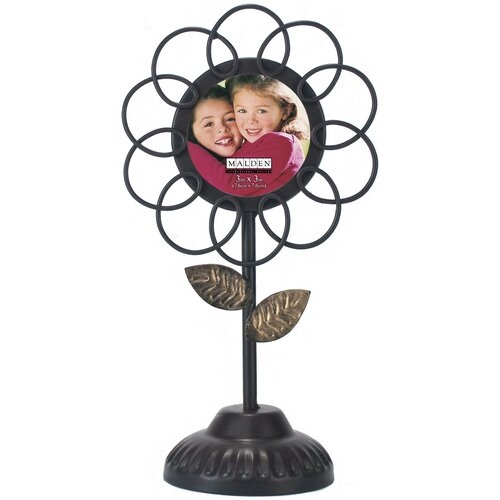 Flower Pedestal Wire Picture Frame