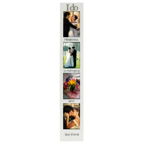 Malden I Do 4-Opening Memory Stick Picture Frame