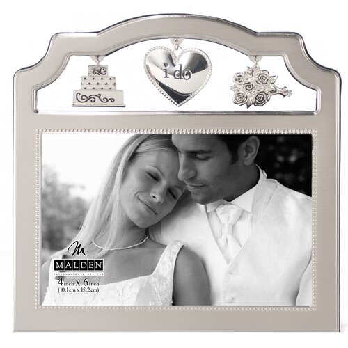 Malden Wedding Metal Charms Picture Frame
