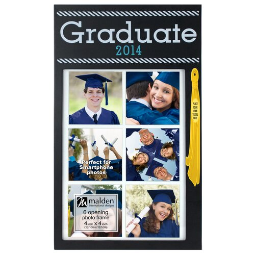 Malden Graduate Collage 6-Opening Picture Frame
