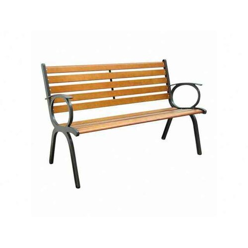 Innova Hearth And Home Contempo Cast Iron Park Bench Reviews Wayfair