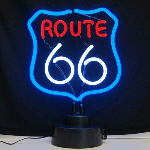 Neonetics Business Signs Route 66 Neon Sign