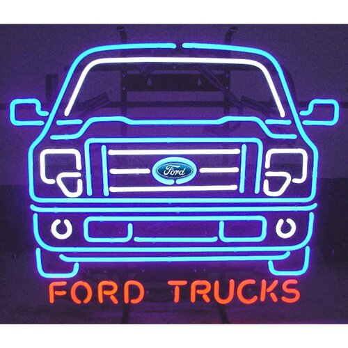 Neonetics Ford Trucks Neon Sign