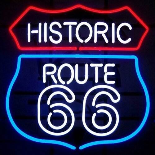 Neonetics Historic Route 66 Neon Sign