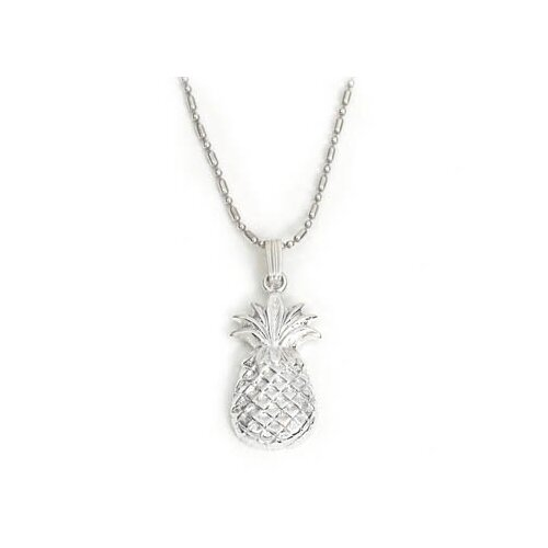 Newport Sterling Sterling Silver Pineapple Pendant Necklace