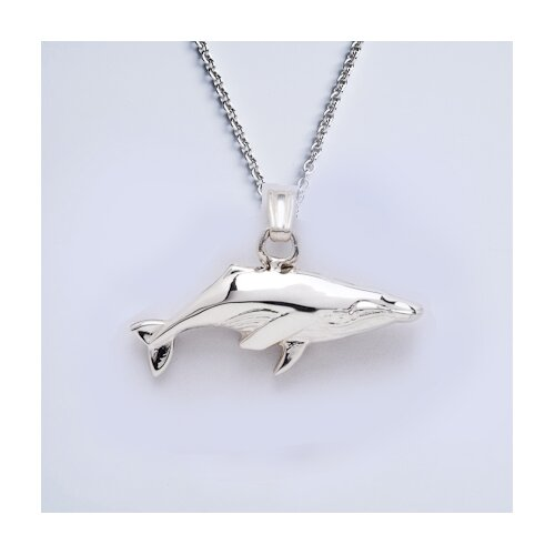 Newport Sterling Sterling Silver Humback Whale Necklace