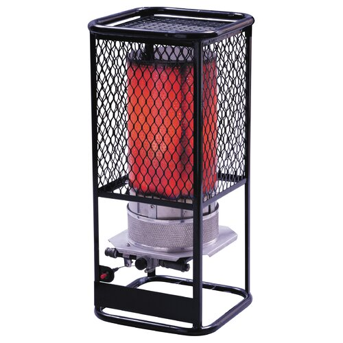 Heatstar 125,000 BTU Radiant Tank Top Natural Gas Space Heater