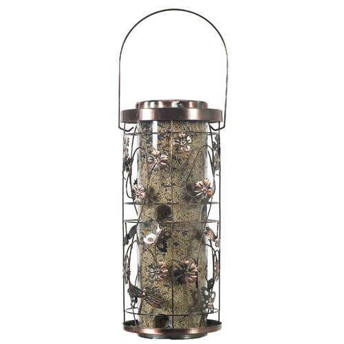 Meadow Decorative Caged Bird Feeder