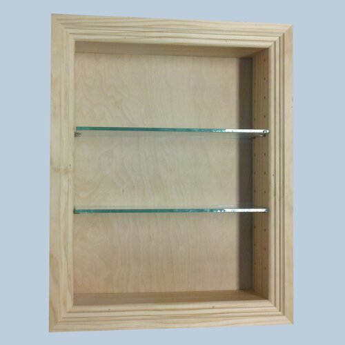 "WG Wood Products Newberry 15.5"" Bathroom Shelf"