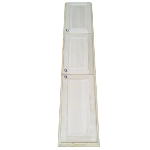 """WG Wood Products Baldwin 80"""" Recessed Kitchen Pantry"""