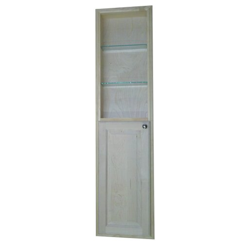 "WG Wood Products Baldwin 62"" Recessed Kitchen Pantry"