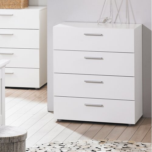 Tvilum Austin Bedroom 4 Drawer Chest