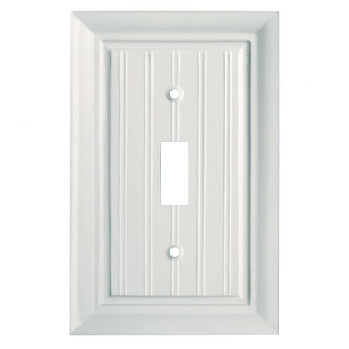 Brainerd Beadboard Single Switch Wall Plate