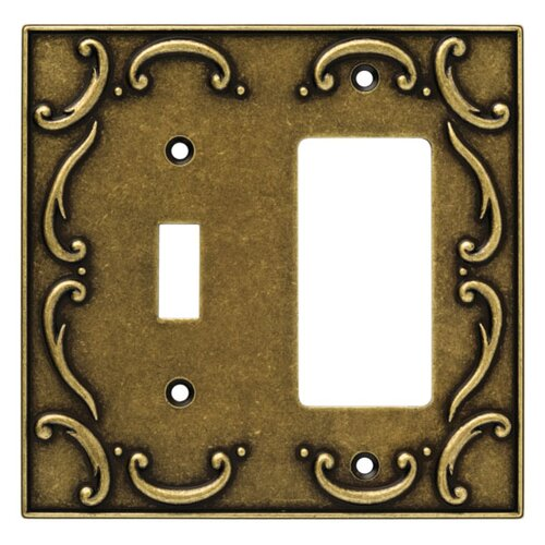 French Lace Single Switch/Decorator Wall Plate