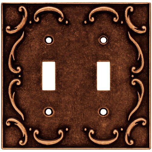 Brainerd French Lace Double Switch Wall Plate